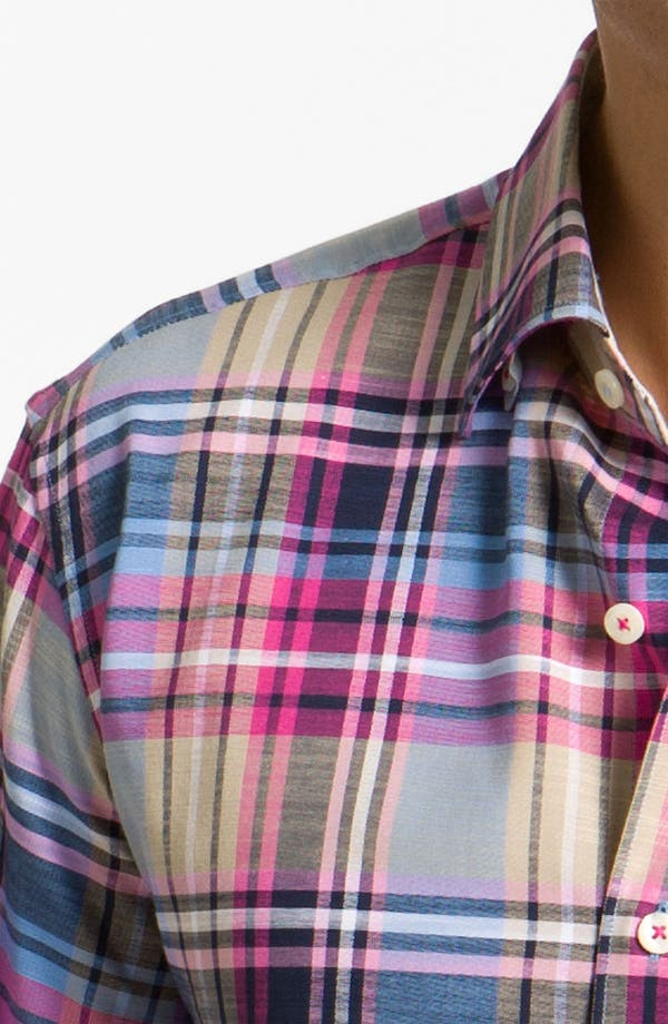 Alternate Image 3  - Tommy Bahama 'Mangrove Plaid' Sport Shirt