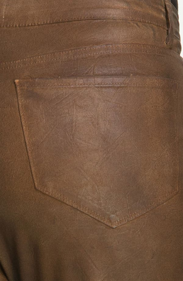 Alternate Image 3  - NYDJ 'Sheri' Skinny Terra Hide Jeans (Plus)