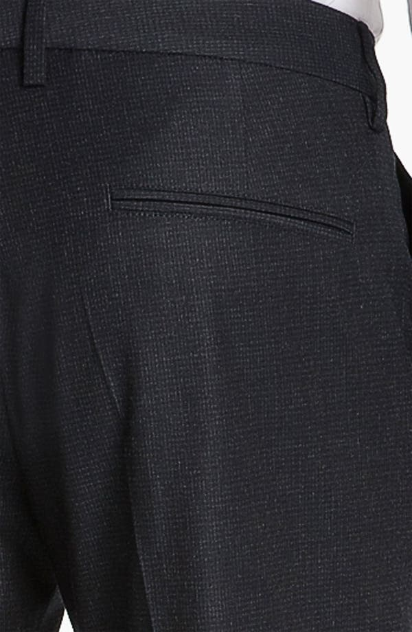 Alternate Image 3  - BOSS Black 'Crigan' Flat Front Trousers