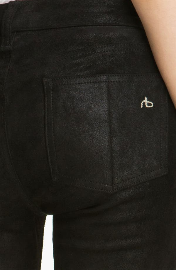 Alternate Image 3  - rag & bone/JEAN Stretch Leather Leggings