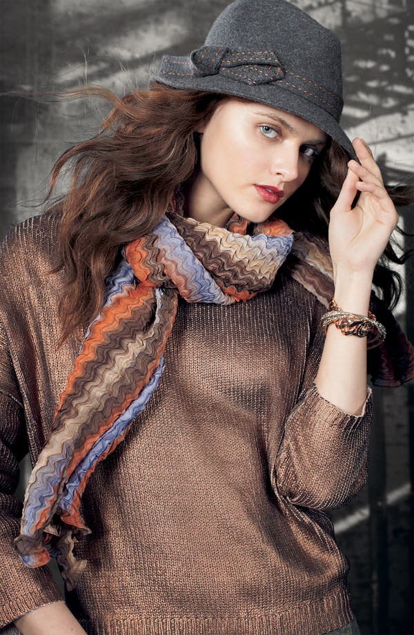Main Image - Nordstrom Fedora, Remain Sweater & Collection XIIX Scarf