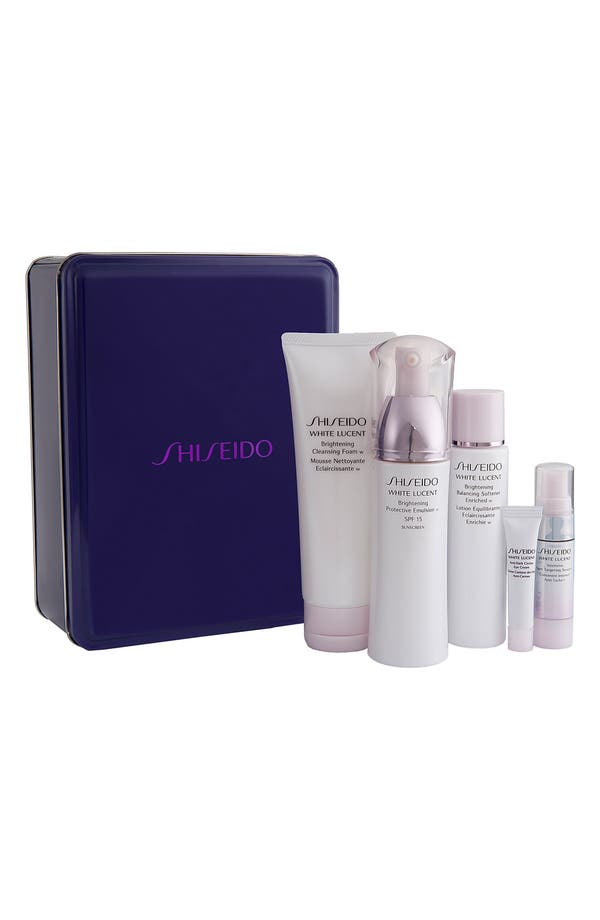 Main Image - Shiseido 'White Lucent' Brilliant Beauty Basics Set