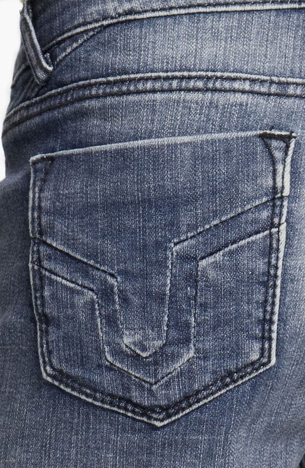 Alternate Image 3  - Vigoss 'Stanton' Cutoff Denim Shorts (Medium) (Juniors)