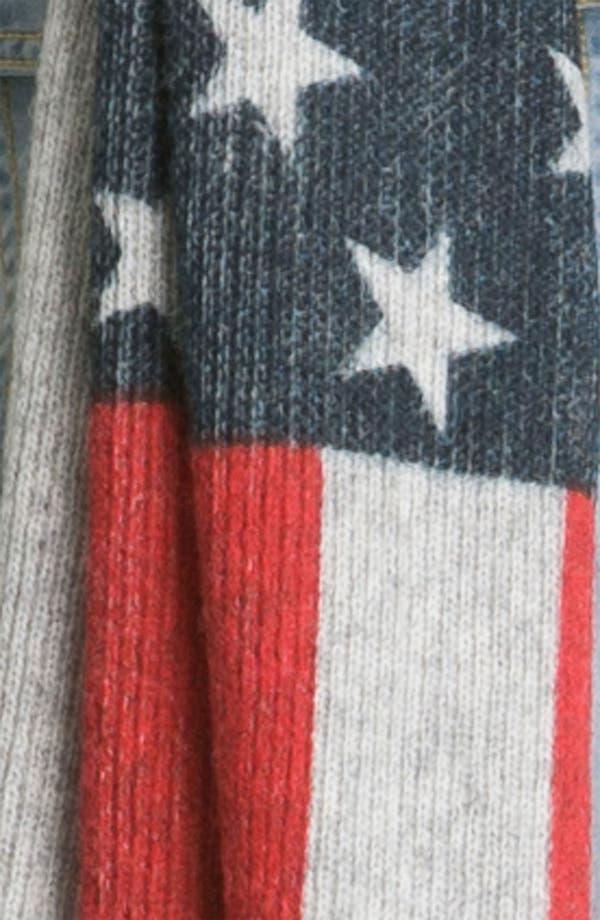 Alternate Image 2  - Tarnish 'American Flag' Scarf