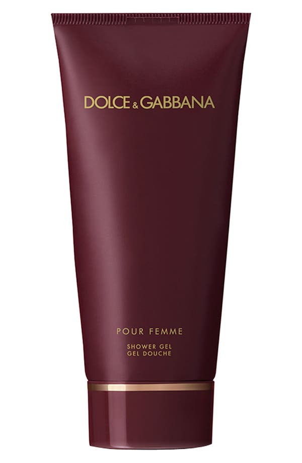 Main Image - Dolce&Gabbana Beauty 'Pour Femme' Shower Gel