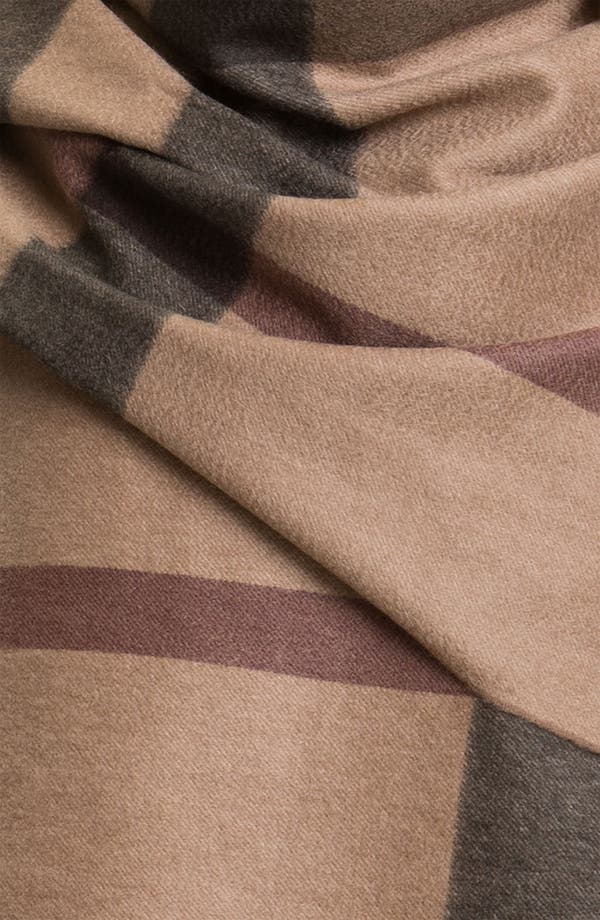 Alternate Image 2  - Burberry London Cashmere Serape