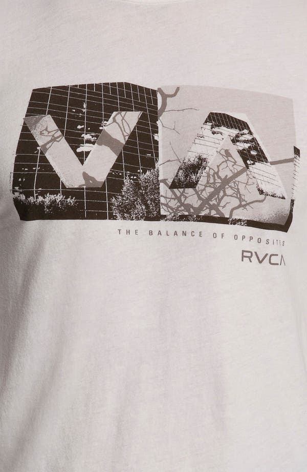 Alternate Image 3  - RVCA 'Branch Box' Graphic Crewneck T-Shirt