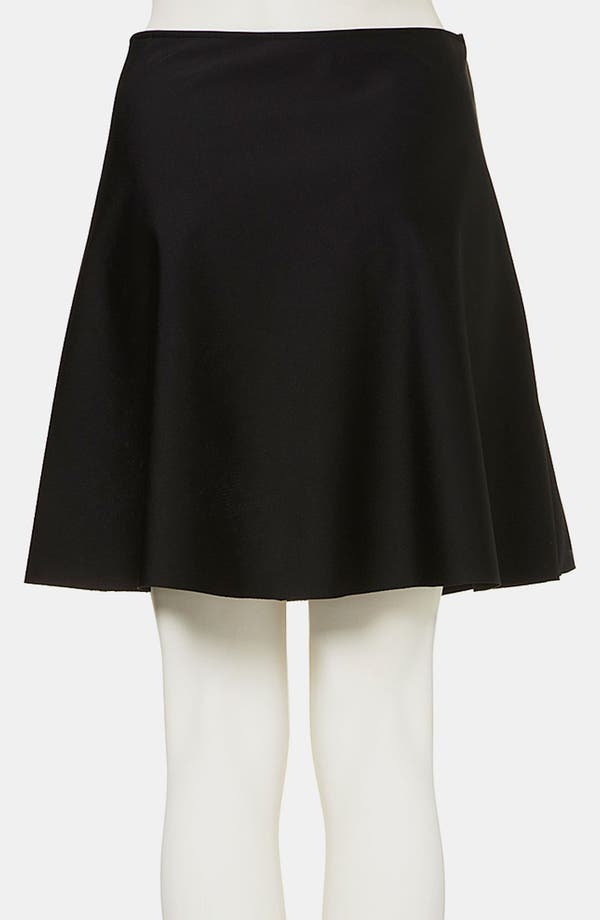 Alternate Image 2  - Topshop Boutique Neoprene A-Line Skirt