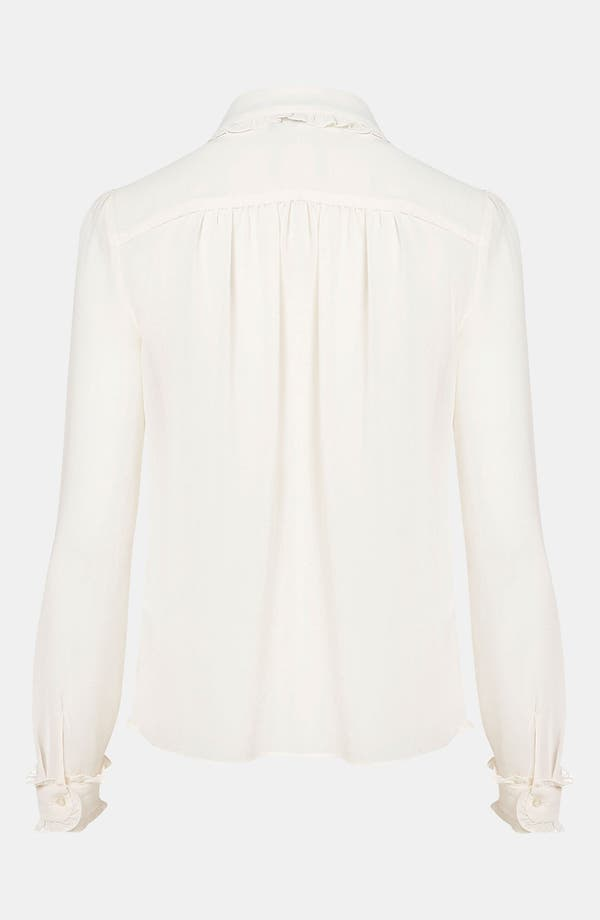 Alternate Image 2  - Topshop Bib Front Shirt
