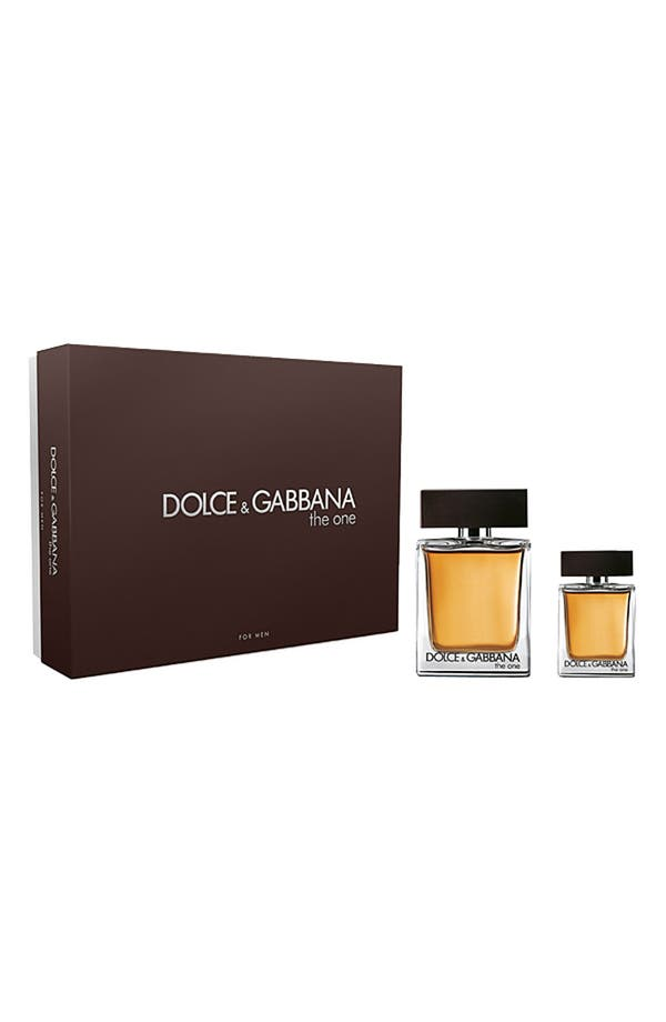 Alternate Image 1 Selected - Dolce&Gabbana Beauty 'The One for Men' Eau de Toilette Duo