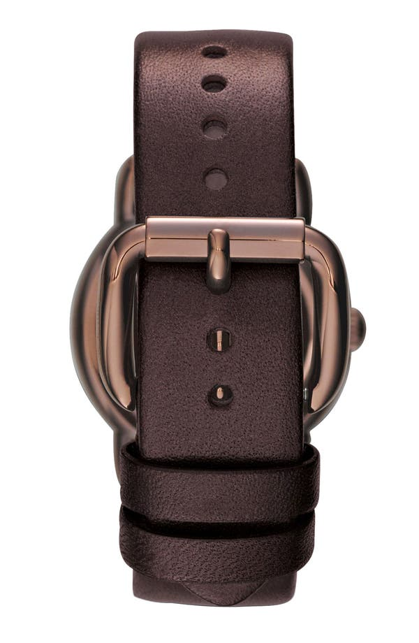 Alternate Image 2  - MARC BY MARC JACOBS 'Marci' Leather Strap Watch, 33mm