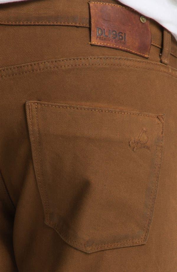 Alternate Image 4  - DL1961 'Russell' Slim Straight Leg Jeans (Desert) (Online Only)