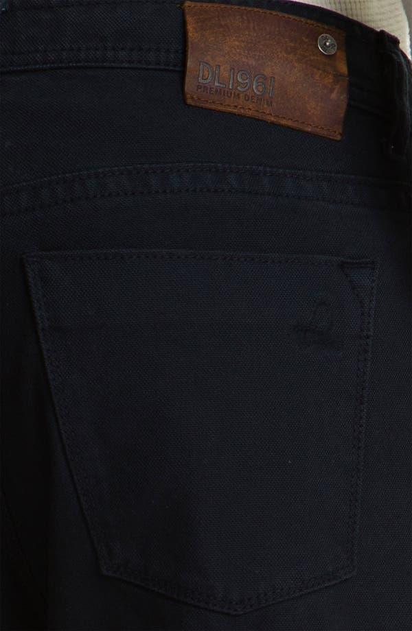 Alternate Image 4  - DL1961 'Vince' Straight Leg Jeans (Boxer)