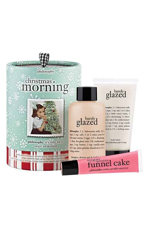 Main Image - philosophy 'christmas morning' gift set