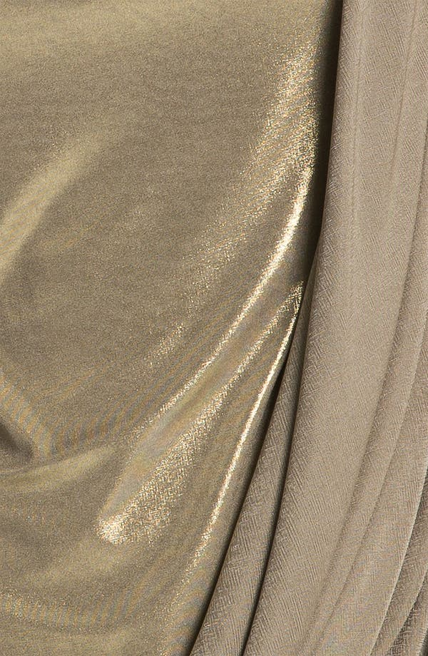 Alternate Image 3  - Bailey 44 Draped Metallic Top