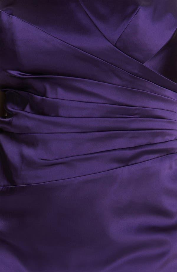 Alternate Image 3  - Calvin Klein Stretch Satin Sheath Dress (Plus)