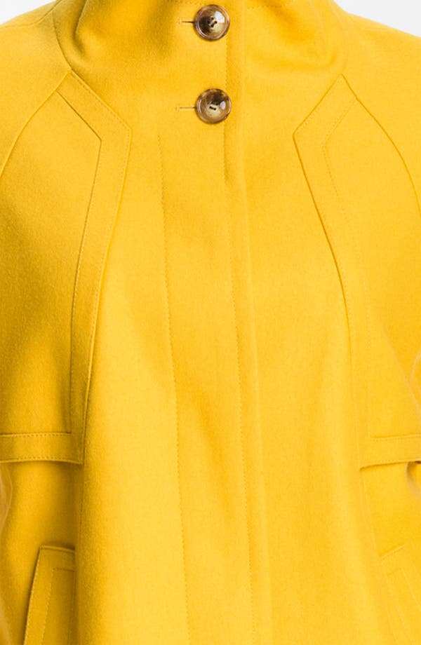 Alternate Image 3  - Ellen Tracy Stand Collar A-Line Coat (Nordstrom Exclusive)