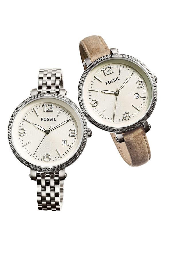 Alternate Image 2  - Fossil 'Heather' Bracelet Watch, 42mm