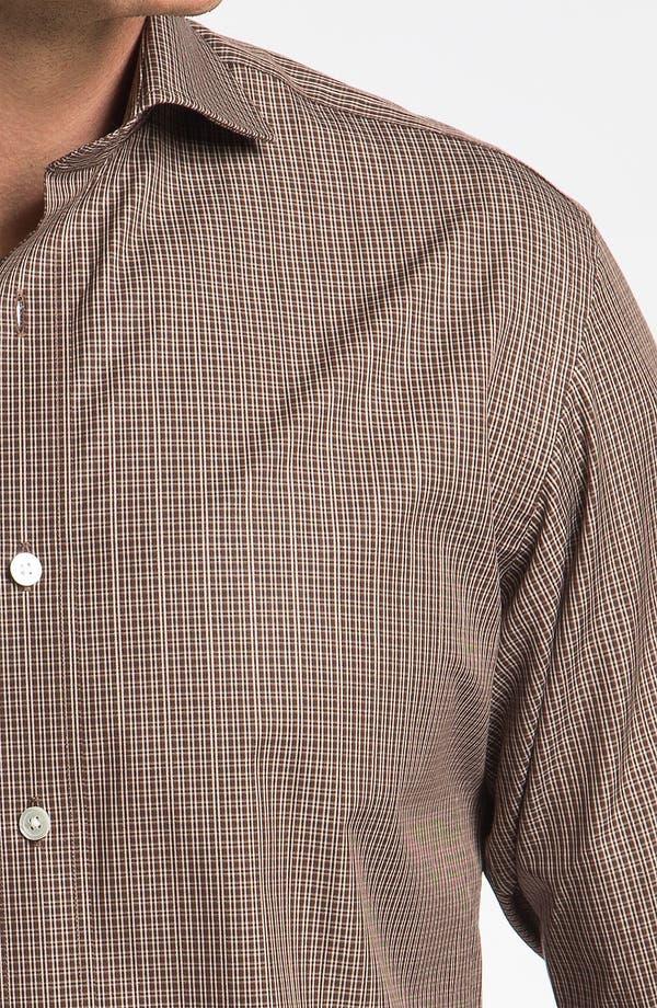 Alternate Image 3  - Hickey Freeman Regular Fit Check Sport Shirt
