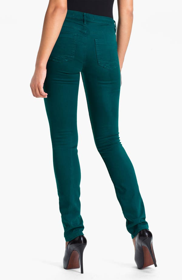 Alternate Image 2  - Christopher Blue 'Sophia' Skinny Twill Jeans