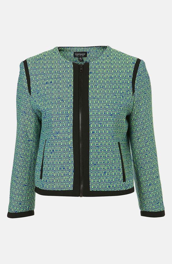 Main Image - Topshop Bouclé Jacket