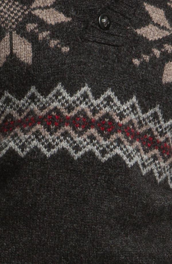 Alternate Image 3  - Pendleton Fair Isle Shawl Collar Shetland Wool Sweater