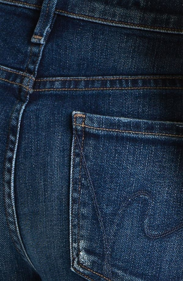 Alternate Image 3  - Citizens of Humanity Stretch Skinny Jeans (Dark Blue)
