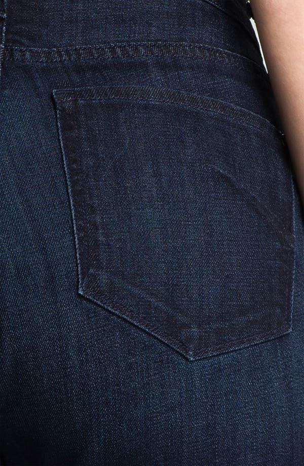 Alternate Image 3  - James Jeans High Rise Straight Leg Jeans (Plus)