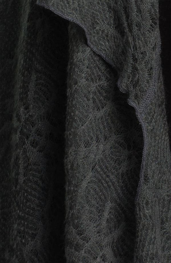 Alternate Image 3  - Out of Ashes Short Crochet Waterfall Cardigan (Plus)
