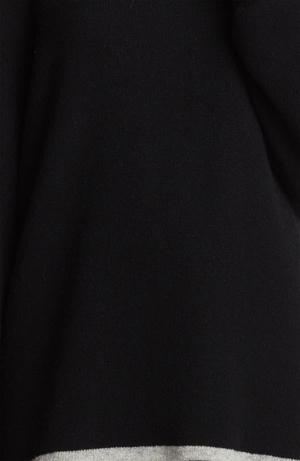 Alternate Image 4  - Alexander Wang Reversible Wool & Cashmere Sweatshirt