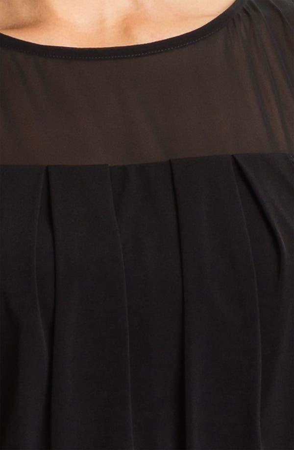 Alternate Image 3  - Vince Camuto Sheer Back Blouson Dress