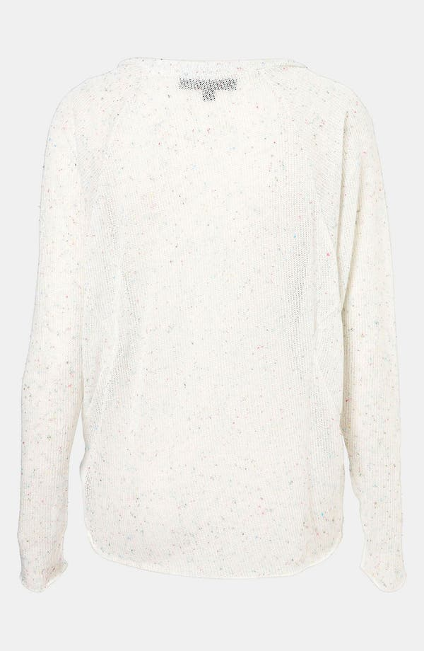 Alternate Image 2  - Topshop Confetti Speckle Sweater (Petite)