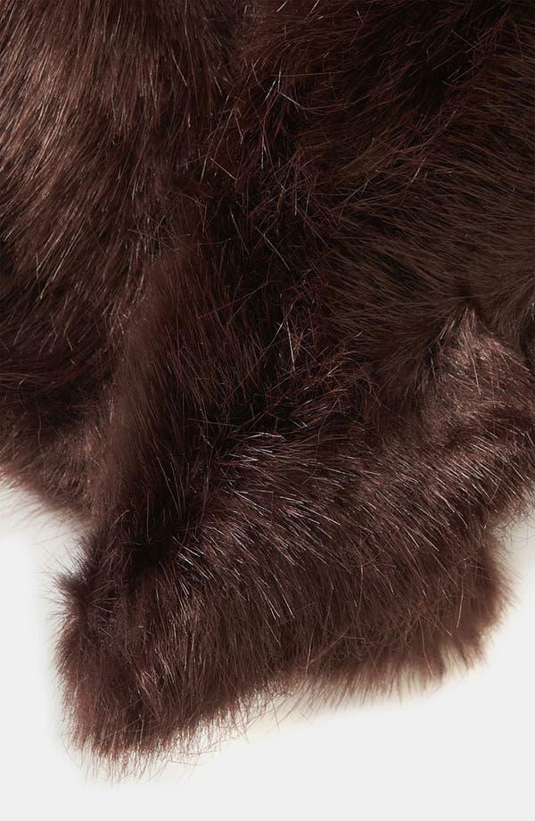 Alternate Image 2  - Topshop Faux Fur Collar