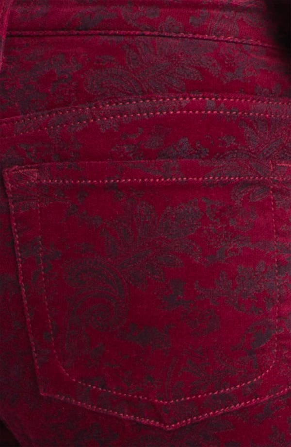 Alternate Image 3  - KUT from the Kloth Velveteen Skinny Jeans