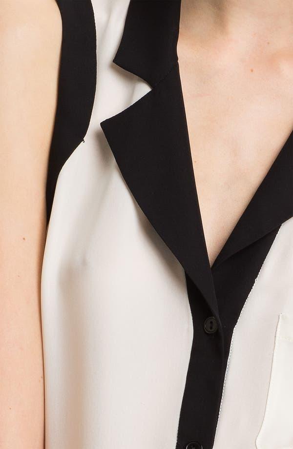 Alternate Image 3  - Parker Open Back Silk Georgette Blouse