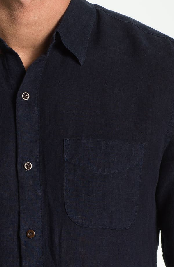 Alternate Image 3  - Vince Woven Linen Shirt