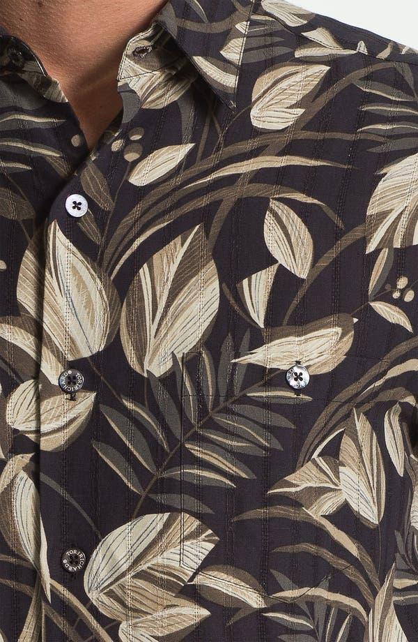 Alternate Image 3  - Tori Richard 'Bird Watcher' Silk & Linen Sport Shirt