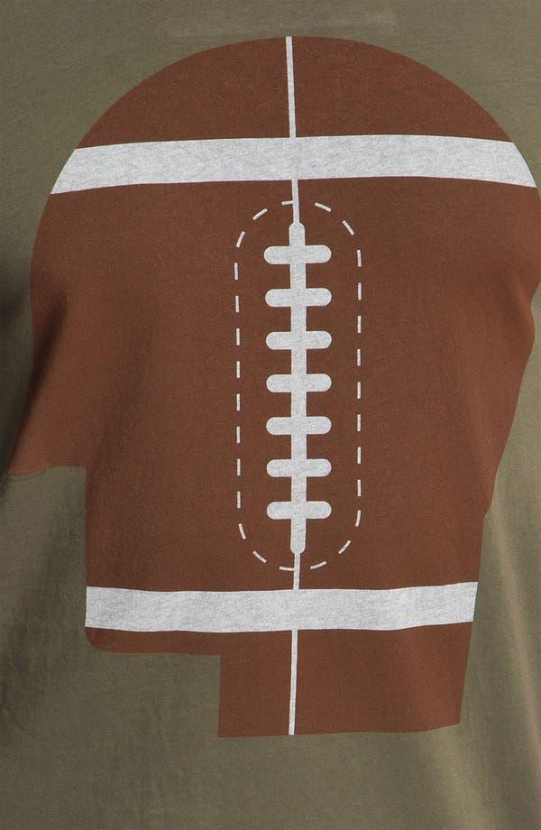 Alternate Image 3  - PalmerCash 'Football on My Mind' T-Shirt