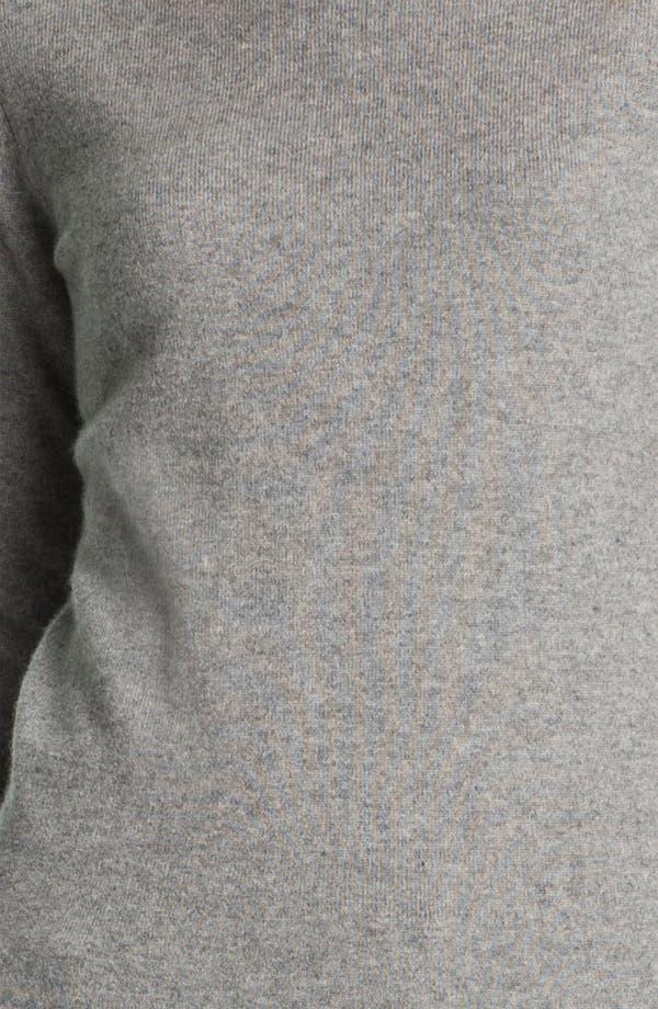 Alternate Image 3  - Pure Amici Cashmere Turtleneck Sweater
