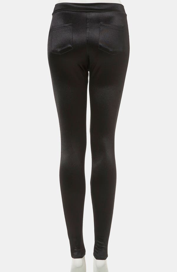 Alternate Image 2  - Topshop 'Disco' Leggings