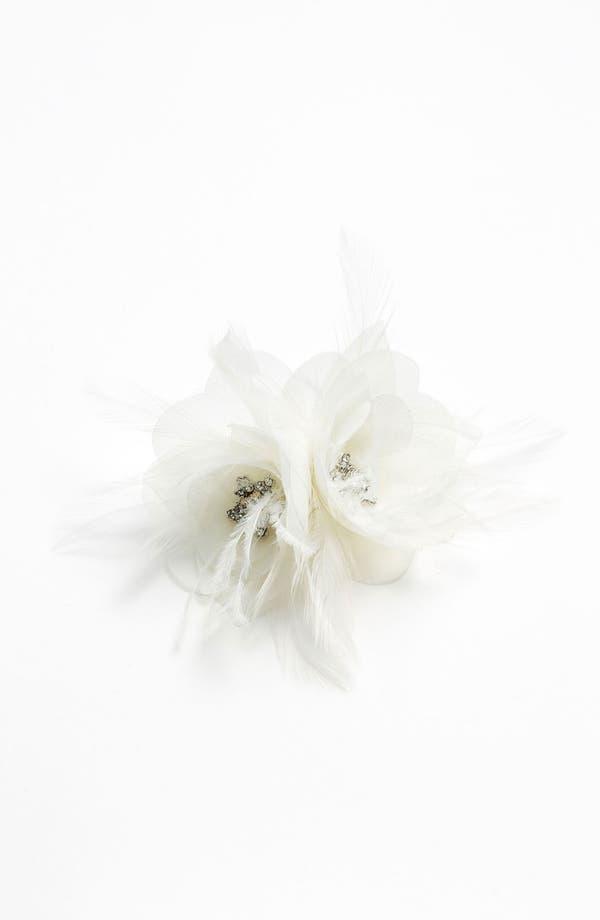 Alternate Image 2  - Nina 'Elle' Flower Hair Clip