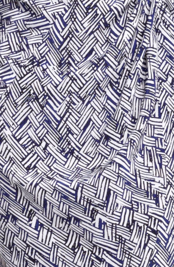 Alternate Image 3  - Thakoon Basket Weave Print Silk Dress