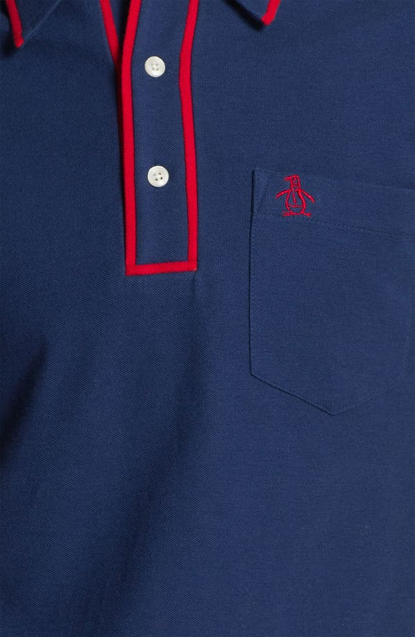 Alternate Image 3  - Original Penguin 'The Earl' Slim Fit Piqué Polo