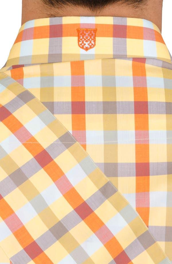 Alternate Image 6  - Bogosse 'Chain 51' Trim Fit Sport Shirt