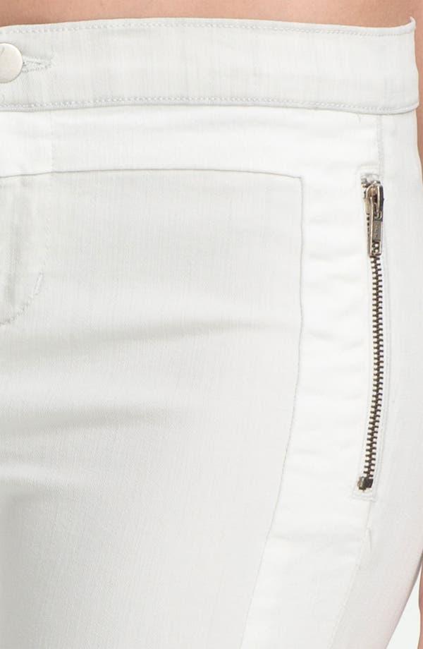 Alternate Image 4  - J Brand 'Kera' Tuxedo Stripe Skinny Jeans (Iceberg)
