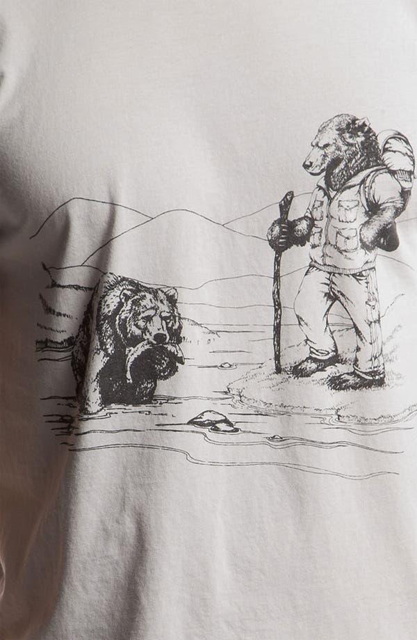 Alternate Image 3  - Toddland 'Disapproving Bear' T-Shirt
