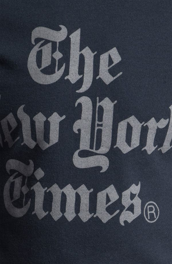 Alternate Image 3  - Altru 'The New York Times®' Graphic Crewneck Sweatshirt
