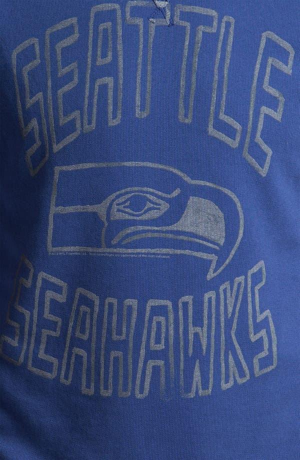 Alternate Image 3  - Junk Food 'Seattle Seahawks' Sweatshirt