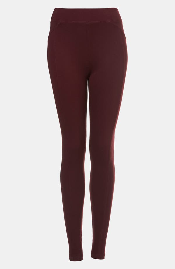 Alternate Image 1 Selected - Topshop Ponte Knit Leggings
