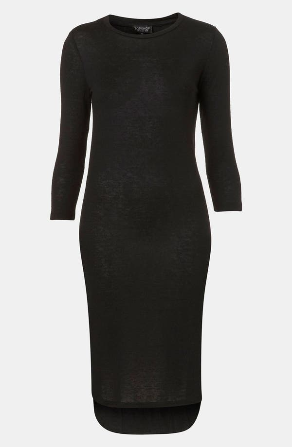 Alternate Image 1 Selected - Topshop High/Low Midi Dress